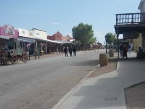 Allen Street. I liked the Earps standing in the middle of the street. :)