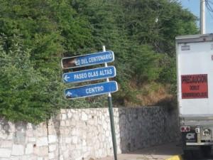Heading towards Olas Altas.