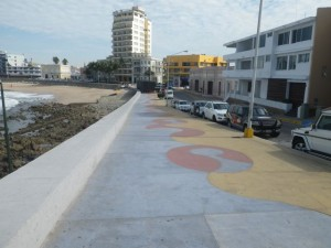Official start of the Malecón at this end.