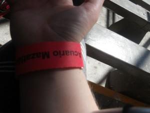 My snazzy Acuario bracelet.
