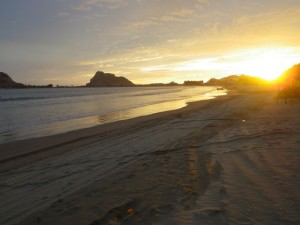 Final Isla sunset.