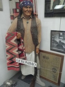 Geronimo was rather short.