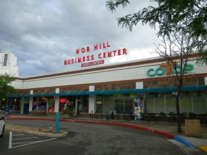 Check out the old sign from when this mall was the only thing in the area for miles around!