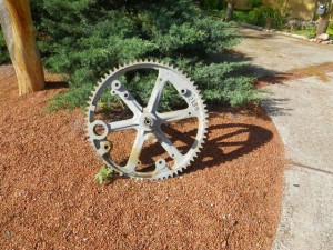 Big cog wheel.