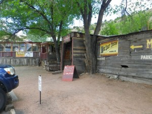 Famous Mineshaft Bar.