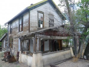 Old miner's house.