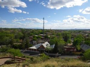 Breathtaking views of Santa Fe.