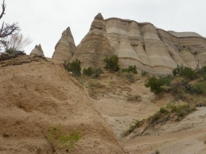 Some freestanding hoodoos.