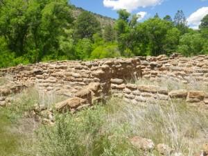 Village ruins.
