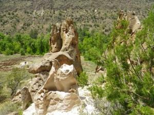Impressive rock formation.