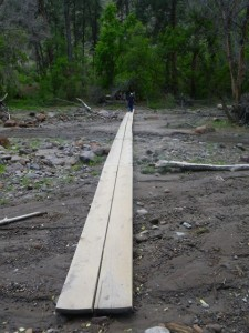 These 'bridges' brought back memories of the Chilkoot Trail!
