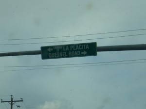 Quesnel Road! I wonder how they pronounce Quesnel here.