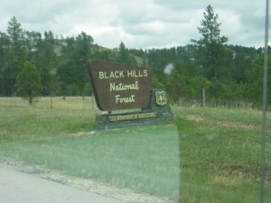 First mention of the Black Hills!