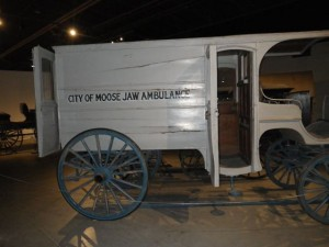 Old ambulance!