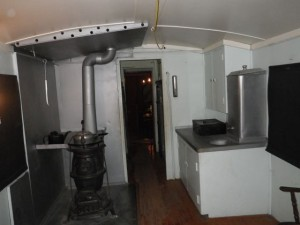 And here's a kitchenette area.