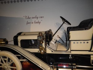 """The only car for a lady."" *snorts*"