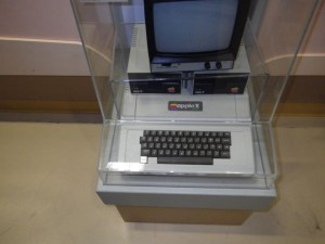 Apple II computer.