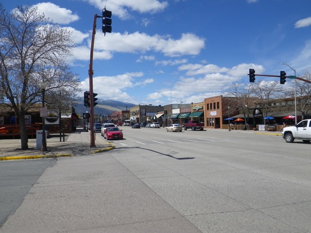 downtown Cody, WY