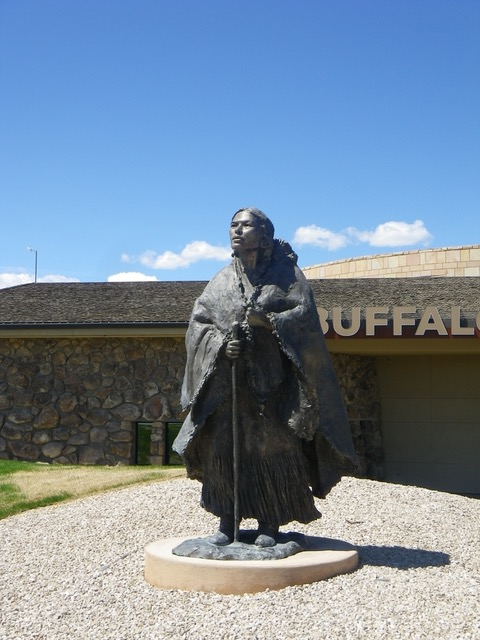 Sacagawea at Center of the West