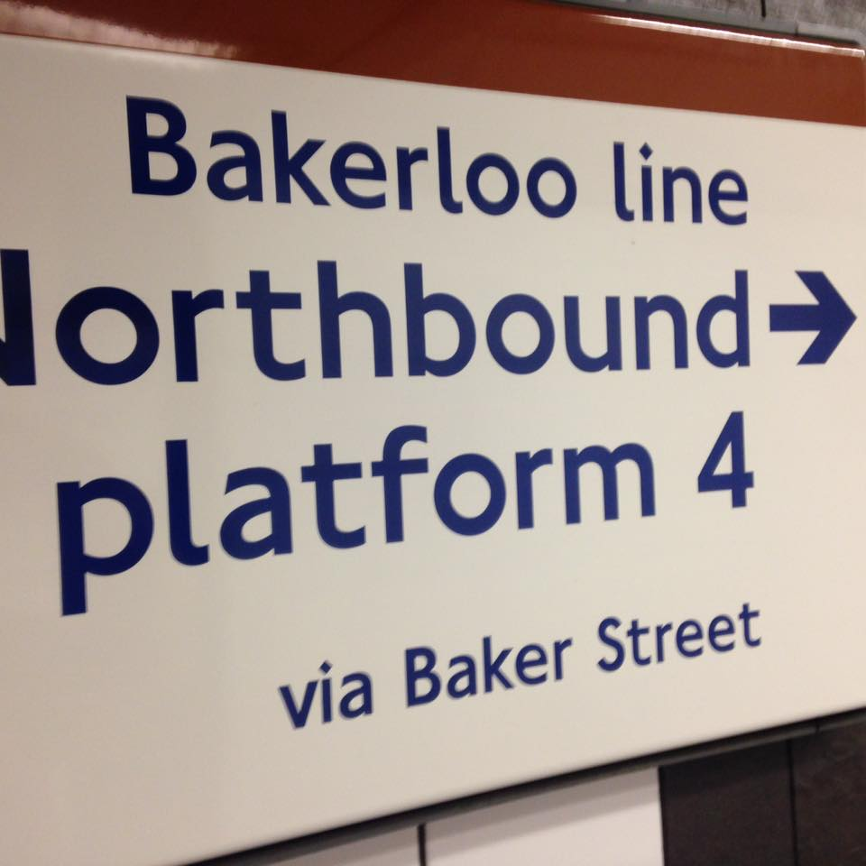 My last connection on the Tube! Was I glad to see it! Gatwick to London Victoria on the train, London Victoria to Oxford Circus on the Tube Victoria line, Oxford Circus to Queen's Park on the Bakerloo line, then switch to the overground part of the Bakerloo line.