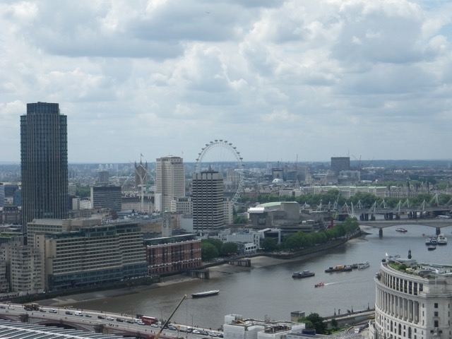 London from the St. Paul's Cathedral