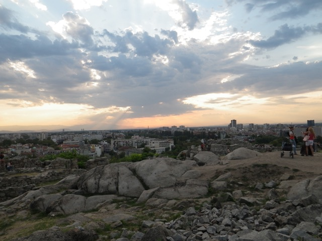 Plovdiv from Nebet Hill