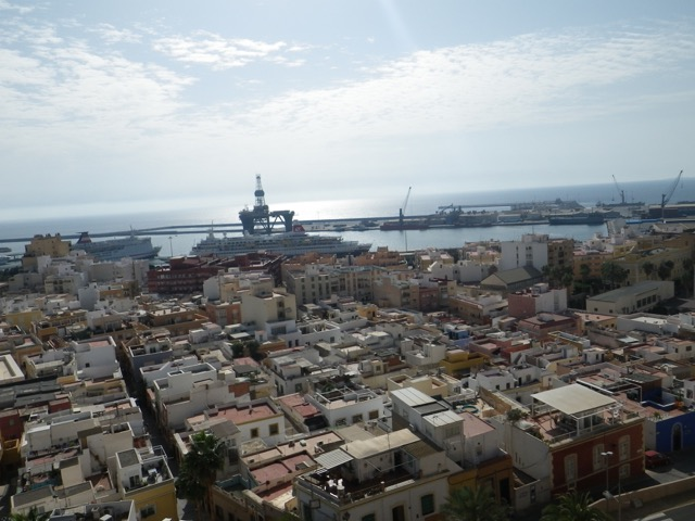 The port of Almería